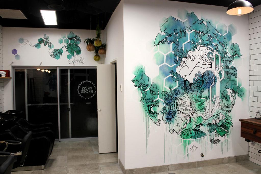 Walden mural, Kriss Kross