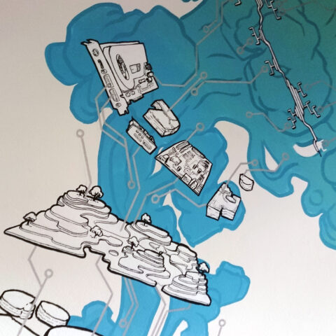 Exploded View - Close-up 1